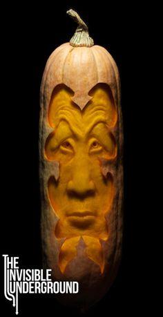 Banana Squash Sculpture