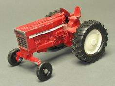 Old Vintage Toy Tractor by International Toy by TheIowaBarn, $22.00