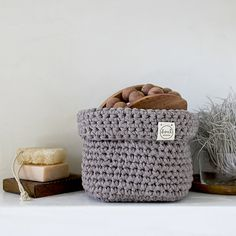 Crochet pattern Square Basket – Soulmade