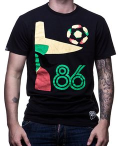 The Football Nation Ltd - Copa Vintage Mexico 86 World Cup T-Shirt, £24.99 (http://www.thefootballnation.co.uk/copa-vintage-mexico-86-world-cup-t-shirt/)