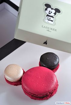Laduree Mickey Macarons! #disney #food_drink #mickey