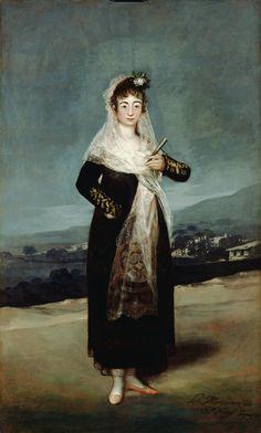 Marquesa de Santiago 1804 - De Goya