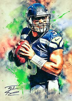 Russell Wilson by Taylan Soyturk                                                                                                                                                                                 More