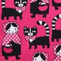 Hurmuri ja mummo by Leena Renko Print Fabrics, Printing On Fabric, Hello Kitty, Kids Outfits, Colours, Cool Stuff, Inspiration, Design, Art