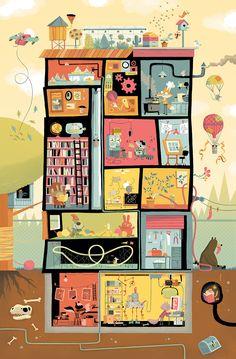 TD Summer Reading Club 2014 - John Martz Illustration and Comics