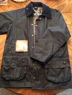Barbour Navy Men's Raincoat Beaufort Quilted Vest size 38 #Barbour #Rainwear