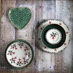 Green Lawn and Fuchsia Patterns by Nicholas Mosse Handmade Valentine Gifts, Irish Pottery, Irish Design, Green Lawn, Pottery Making, Decorative Plates, Valentines, Brixton, Creative