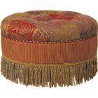 Caravan Round Ottoman - I love ottomans!