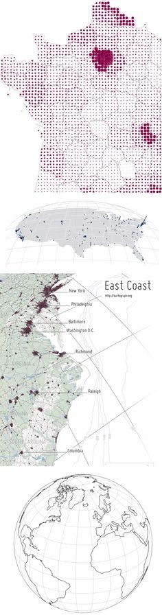 #DATAVIZ  imgs Transformez vos cartes Illustrator en cartes SVG interactives avec Kartograph !