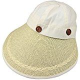 Cappello cappellino PAGLIA CELESTE mare estate made in Italy donna  Amazon.it   Sport 04b0fc36d859