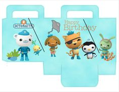 Octonauts Party Favor Bag Printable DIY  by APartyinWonderland, $5.00