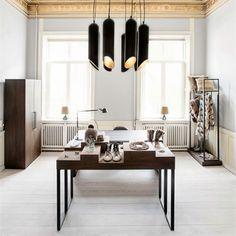 Скандинавская алюминиевая подвесная лампа. #architecture #life #design #lighting #home #villa #interior #house