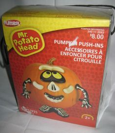 Mr-Potato-Head-Skeleton-Pumpkin-Push-ins-New-in-Pkg-Halloween