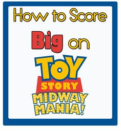Tips & tricks for scoring big points on Toy Story Midway Mania! I need all the help I can get on this ride guys..