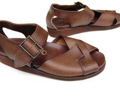 mens 1960s sandals