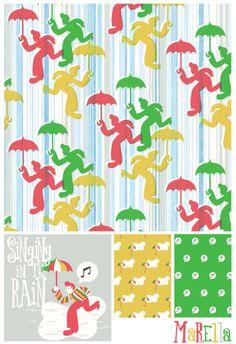 Marco Marella, singing in the rain pattern, www.marcomarella.com