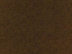 Woltweed Visgraat SoPo, donker bruin/mosterd, P-9209,  bij stoffen-hemmers.be