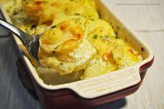 Küchenzaubereien: Kartoffel-Petersilienwurzel-Gratin