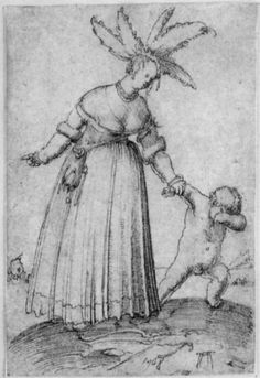 Albrecht Altdorfer, Venus straft Amor, 1508