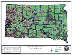 DSL Availability in South Dakota.