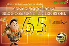 65 manually do follow blog comments under 45 obl high da 20 to 80