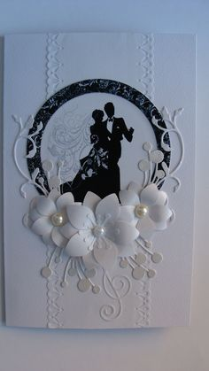 Wedding Card - All essential products can be found on Crafting.co.uk - for all your crafting needs.