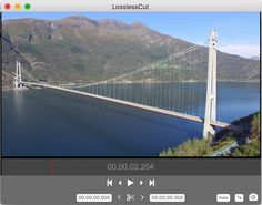 LosslessCut for Windows 1.3.0 Simple, cross platform video editor for lossless trimming / cutting of videos. Great for rough processing of large video files taken from a video camera, GoPro, drone, etc. Lets you quickly extract the good parts from your videos and discard GB of data without losing quality. #filmmaking #gopro #film #video
