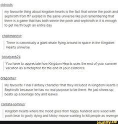 Ladie and gentlemen, I present to you: KINGDOM HEARTS