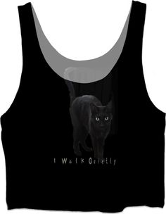Check out my new product https://www.rageon.com/products/i-walk-quietly?aff=HET6 on RageOn! #cats #blackcats #alburtonart