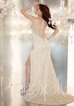 Panoply Sheer Back Dress 44245