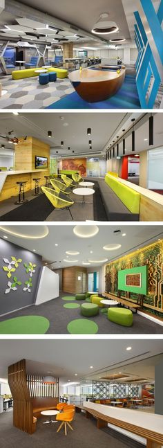 Office Space Interior - Different Ideas Office Space Design, Modern Office Design, Workplace Design, Office Designs, Local Commercial, Commercial Design, Commercial Interiors, Space Interiors, Office Interiors