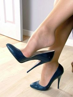Image result for pantyhose feet heels