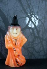 Wonderful Little Witch Halloween Candle - From A Holiday Wonderland on Ruby Lane