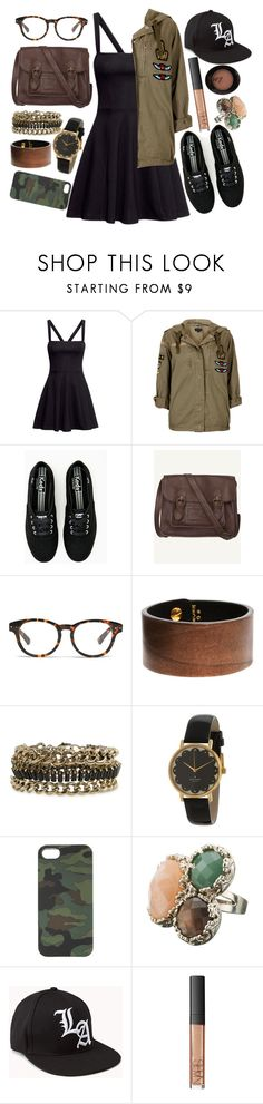 """""""Salute."""" by sugardaisy ❤ liked on Polyvore featuring H&M, Topshop, Fat Face, Madewell, Black & Brown London, MANGO, Kate Spade, J.Crew, Monsoon and Forever 21"""