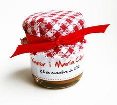 Souvenir: Dulce de leche - Boda Xavier & María Clara - (España - Uruguay)