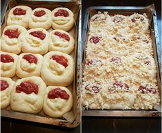 Rezept Pudding Erdbeer Hefeteig Buchteln von Salamandertattoo - Rezept der…