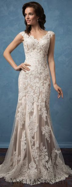 Wedding Dress by Amelia Sposa 2017 - Royal Blue Collection relationship wants / royal blue dress for wedding / royal blue wedding dress / blue wedding dress royal / royal blue wedding Stunning Wedding Dresses, Blue Wedding Dresses, Designer Wedding Dresses, Bridal Dresses, Wedding Gowns, 2017 Wedding, Lace Wedding, Wedding Blue, Miami Wedding