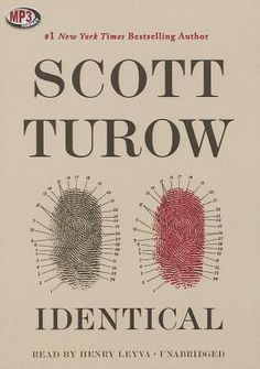 Identical by Scott Turow.  I loved this book