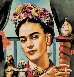 Frida Kahlo Serie Max Paris by maxxparis – Painting ideas Frida Kahlo Artwork, Kahlo Paintings, Frida Art, Art Paintings, Diego Rivera, Frida Tattoo, Perspective Drawing Lessons, Art Hoe Aesthetic, Mexico Art