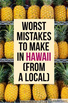 Hawaii Travel Guide, Maui Travel, Travel Usa, Travel Tips, Hawaii Vacation Tips, Vacation In Hawaii, Travel Hacks, Travel Guides, Hawaii Honeymoon