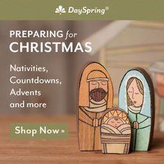 Make a kid friendly nativity set.