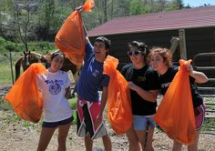 Members of the Western Carolina University community participated in the 27th annual Tuckasegee River Cleanup on Saturday April 16.
