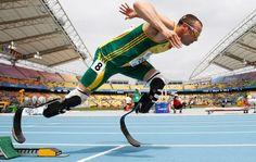 No excuses. Oscar Pistorius....Olympian