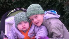Caps for siblings:-)