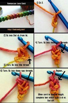 Crochet Roman Lace Cord