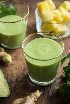 Happy Digestion Smoothie — Oh She Glows (Vegan, gluten-free, grain-free, nut-free, oil-free, refined sugar-free, soy-free)