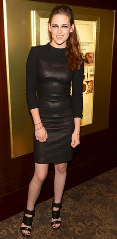 Kristen Stewart (in A.L.C.) at a screening of On the Road in New York City