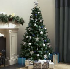 Tesco, £40 - artificial christmas trees - Woman And Home