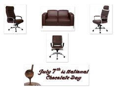 July 7th is National Chocolate Day! We may not have actual chocolates but we do have many of our seating available in the color chocolate ! Check out our 3, 4, 11 & Lounge Series available in a chocolate color: http://attheoffice.com/products/2013-catalog/#table-of-content