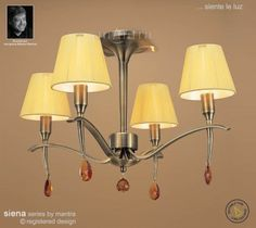 The Siena Semi Ceiling Light has an antique brass finish Semi Flush Ceiling Lights, Ceiling Lamp, 1920s House, Wall Brackets, Amber Glass, Siena, Home Projects, Antique Brass, Mantra